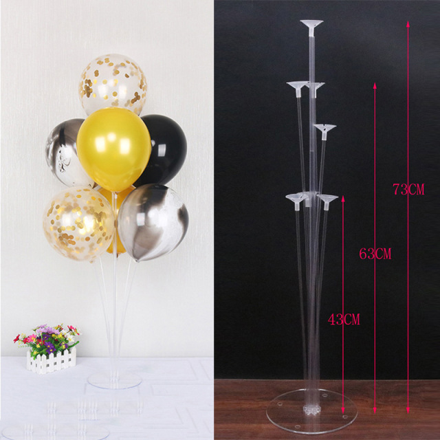 Bruiloft Decoratie Ballonnen Accesoires Ballonnen Stand Ballon Houder Kolom Stok Ballon Baby Shower Kids Birthday Party Decor 1