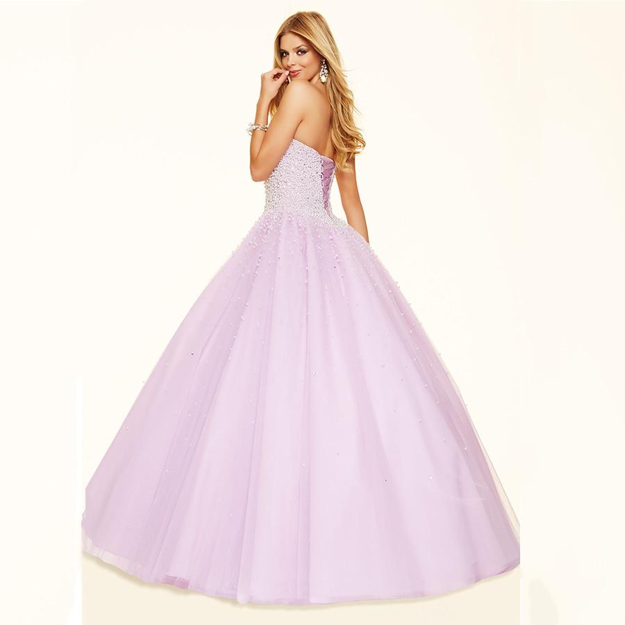 Más el tamaño de lujo balón vestido de novia totalmente perlas del ...