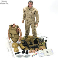 Toy Soldiers 1/6 Action Figures Military Figures Toys Army Men Model Jointed Doll Boys Toys For children Birthday Gift