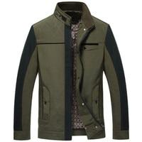 Jacket Men Business Thin 2016 New Hot Selling Casaco Masculino Splice Black 4XL Jaqueta Masculina Male