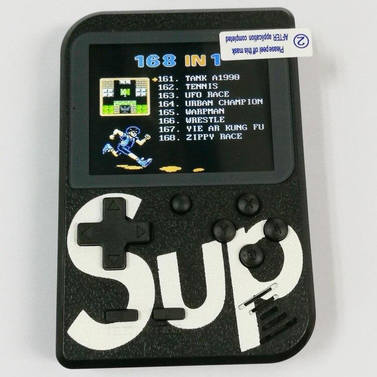 Unterhaltungselektronik Intelligent Farbe Farbe Handheld-spiel-spieler 2,8 tragbare Klassische Spiel Konsole Konsolen Mit Eingebaute 168 Spiele Portable Spielkonsolen