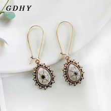 GDHY Hot Sale Shiny Water Drop Earrings Retro For Women Bohemian Vintage Wedding Drop Earrings Ear Jewelry Accessories cheap Fashion TRENDY geometric RH033 Zinc Alloy Metal As picture 100 Brand New Anniverrsary Gift Party souvenirs Other Retail Wholesale Drop shipping