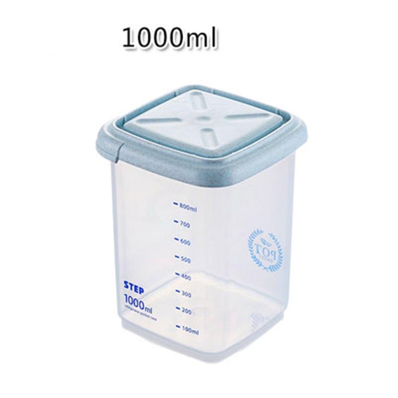 JiangChaoBo Kitchen Storage Tank Serbatoio di plastica Serbatoio di - Organizzazione e deposito in casa - Fotografia 4