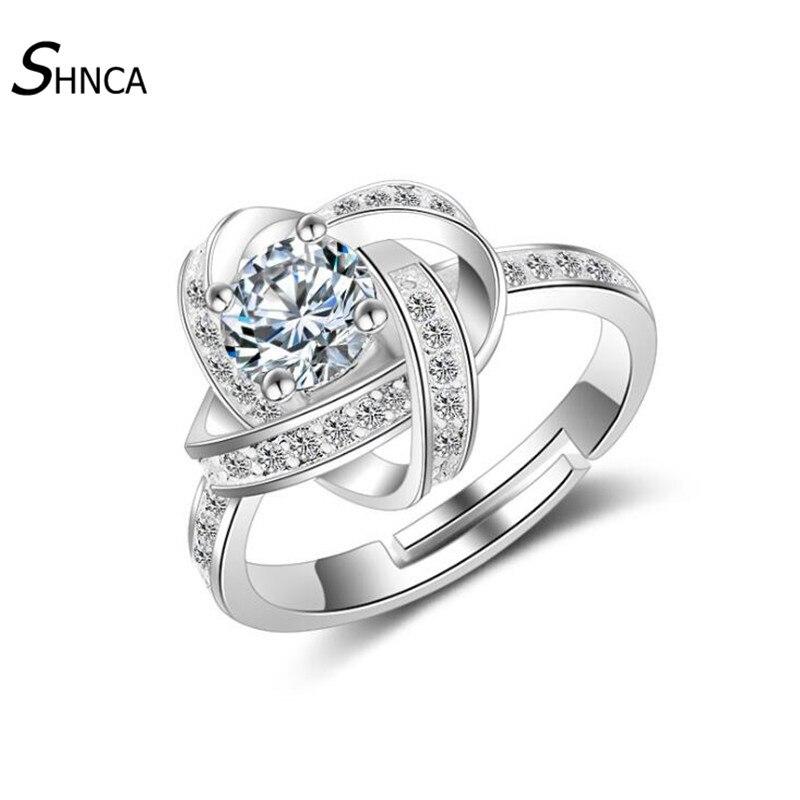 Classic Engagement font b Wedding b font Rings font b Jewelry b font font b Luxurious