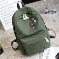 Sacos de escola para adolescentes mochila ocasional das mulheres meninas mochila de viagem da moda saco de ombro das mulheres mochila de lona bolsas XD3888