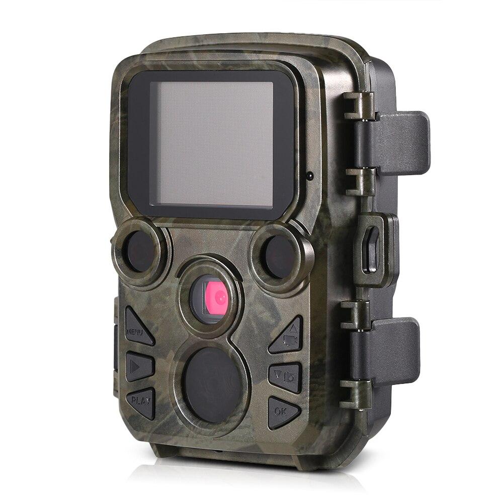 IP66 Chasse Caméra Jeu Caméra 12MP 1080 p Mini Trail Extérieur Faune Scoutisme Caméra avec Capteur PIR 0.45 s Rapide trigger Chasse