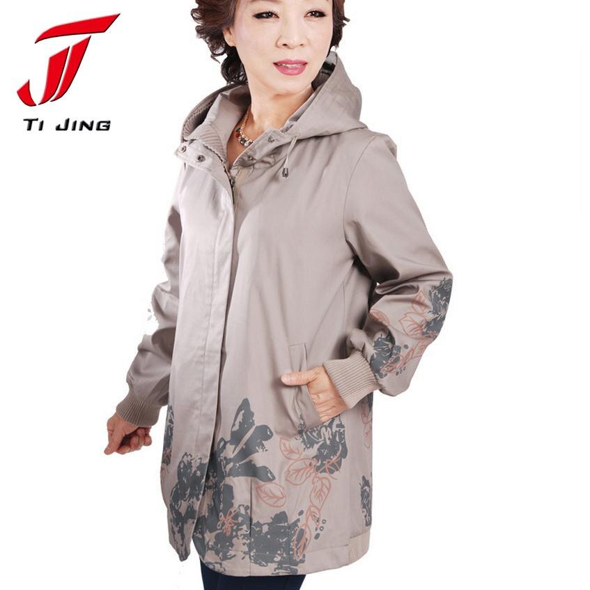 2017 новый arrrival весной и осенью на средние и длинные женские траншеи случайный верхняя одежда женская мода пальто Плюс размер 3XL 4XL 5XL, B2507