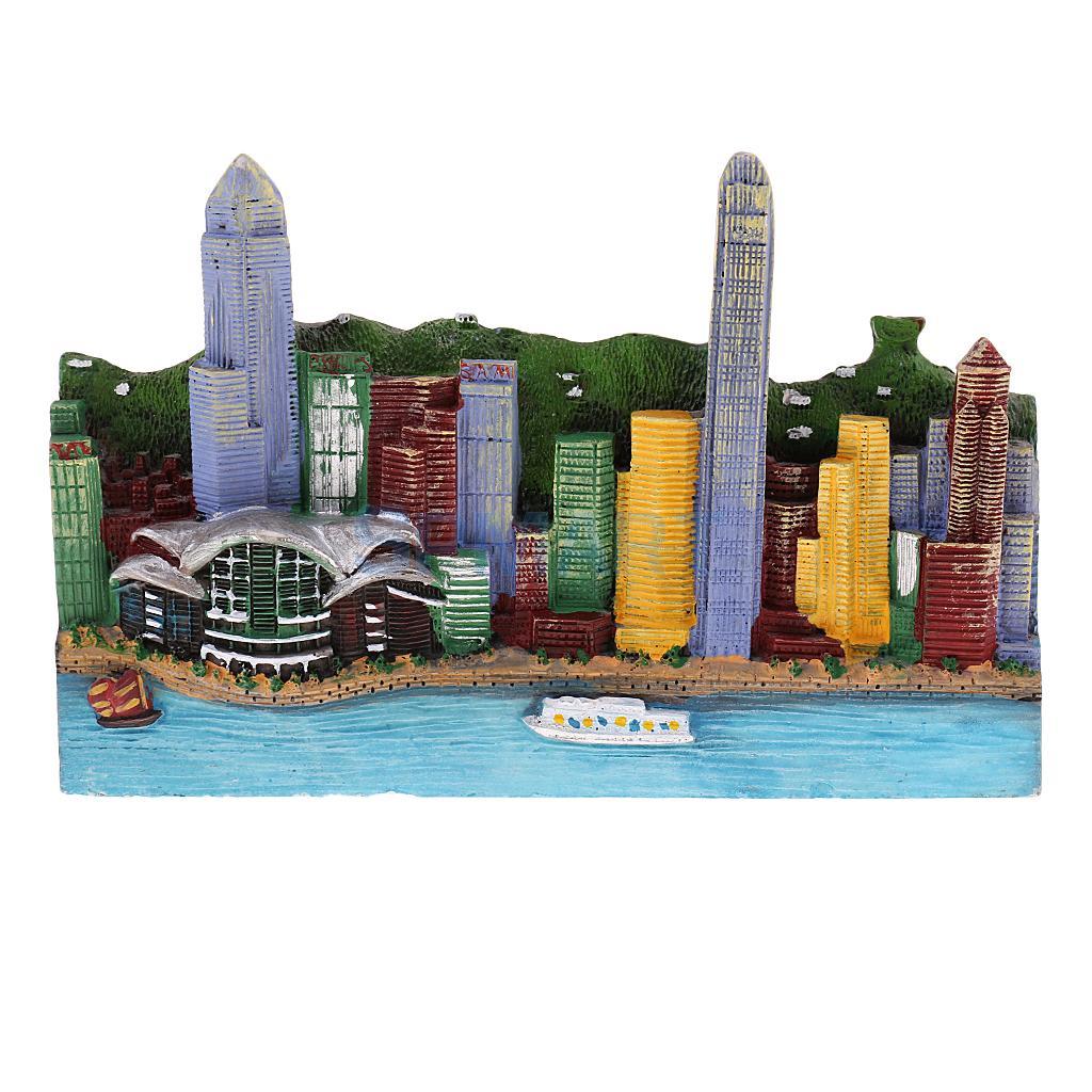 Resin Hongkong City Buildings Model Building Archit