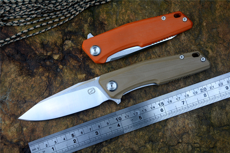 STEDEMON knife 440C fold blade G10 handle C02 model ball bearing washer outdoor camping hunting pocket knife EDC tools|Knives| |  - title=