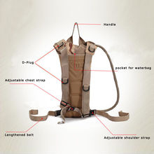 2.5L Hydration System Water Bag Backpack
