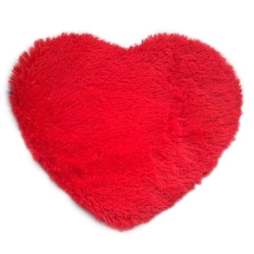 Best Fashion Modern Decorative Shaggy Heart Soft Faux Fur