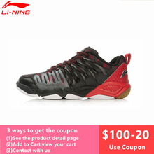 LiNing Professional Badminton Shoes for Men Hard-wearing Lining Athletic Sneaker Anti-Slippery Sport Shoe LiNing AYTL039 L640OLB