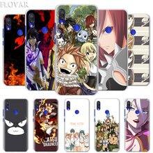 Anime Manga Fairy Tail Phone Case for Xiaomi Redmi 7 5 6 Pro Note 7 Pro 5 5A 6 Mi A1 A2 8 Lite 9 Case Coque one punch man anime phone case for xiaomi redmi s2 y3 y2 note 7 7s 6 5 pro 4 4x mi f1 9 8 a2 lite pattern cover capa coque