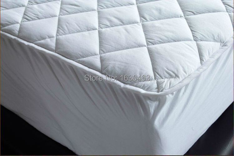 2105 Super King 180 210 30cm Cotton Quilt Waterproof Mattress Pad Cover Protection For Bed Bug In Covers Grippers From Home Garden On
