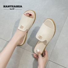 New Arrival Womens Summer Shoes Casual Fashionable Flat Slippers Rivet Classic