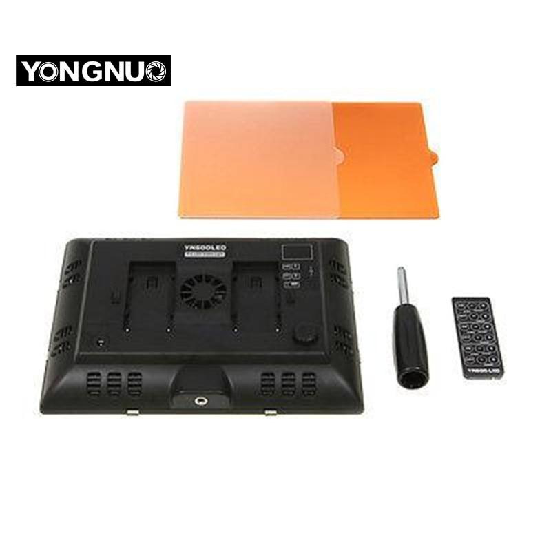 YONGNUO YN-600 YN600 LED luč 5500K Barvna temperatura nastavljiva - Kamera in foto - Fotografija 2