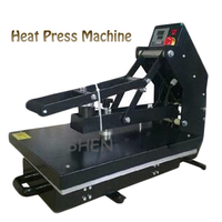 1400W Semi Automatic Heat Press Machine 110/220V Hot Pressing Machine Hot Stamping Machine APLS HP3804DD