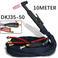 WP18 SR18 10M 33Foot Cable DKJ35 50 quick plug Tig Torch complete W350 TIG Gun Water Cooled Argon Tig Welding gun complete