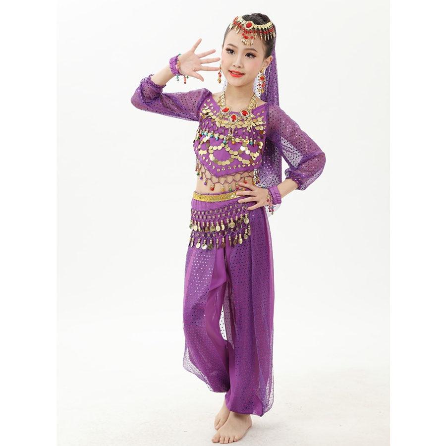 Danse Enfant Costume Orientale Danse Costume 4R5Lq3Aj