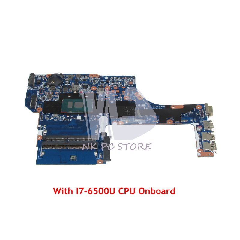 NOKOTION For HP ProbBook <font><b>450</b></font> G3 Laptop Motherboard DAX63CMB6D1 SR2EZ I7-6500U CPU Onboard DDR4 image