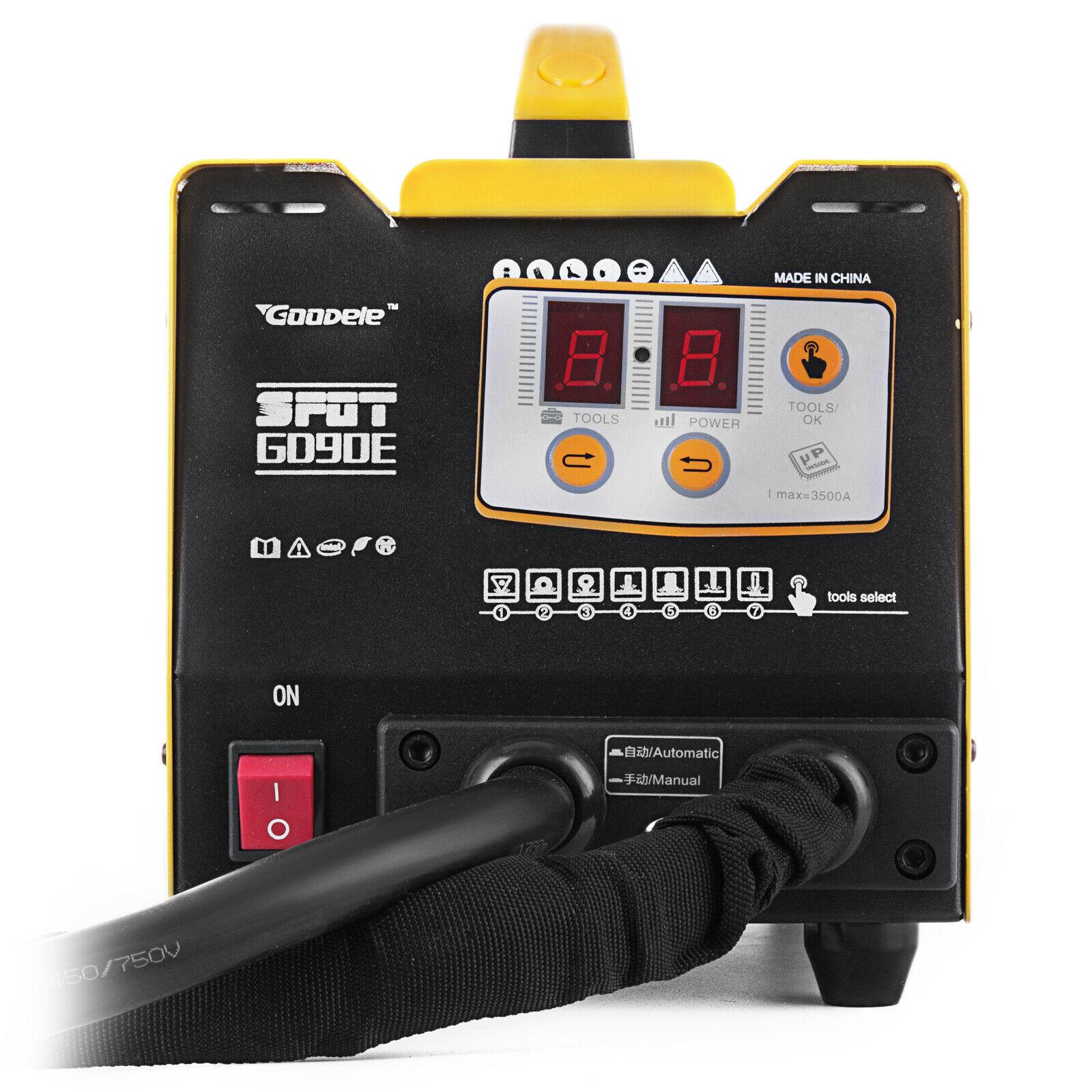 G90E Dent Erinnerung Auto Werkzeug Dent Reparatur Spotter Schweiß Maschine 220V Schweißer