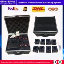 2 set/lotto 16 pz telecomando indoor fontana fuochi d'artificio base del sistema Fase pirotecnici Accenditore titolare di cottura macchina