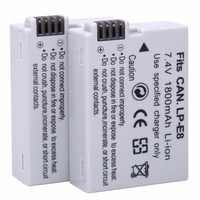 2 stücke 1800 mAh LP-E8 LPE8 LPE8 Kamera Batterien AKKU Pack Für Canon 550D 600D 650D 700D X4 X5 X6i x7i T2i T3i T4i T5i DSLR Kamera