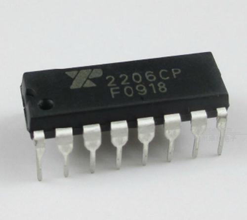 1pcs XR-2206 XR2206CP XR2206 Monolithic Generator DIP IC new free shipping xr 1020cn xr 1020acn xr1020cn filter double pin porcelain dip ic