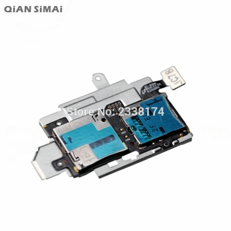 QiAN SiMAi For Samsung Galaxy S3 I9300 New SIM Card Slot SD Card Tray Reader Holder Socket Flex Cable Repair Parts