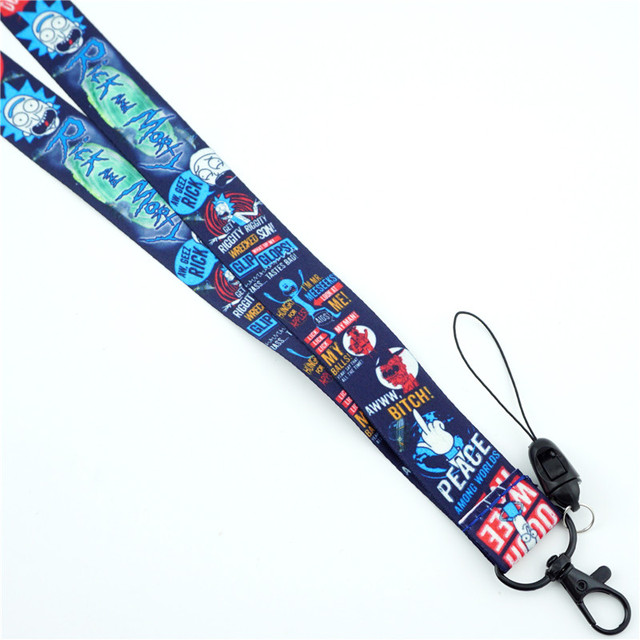Rick and Morty lanyard cosplay Accessories