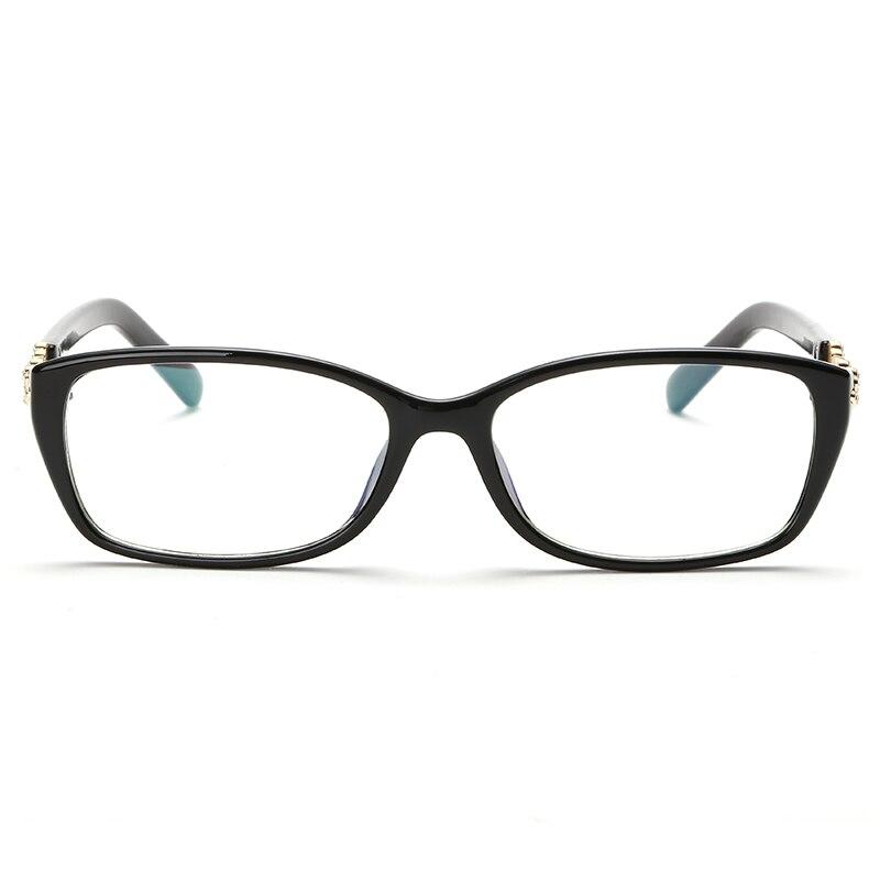 2017 J N New Brand Women Optical Glasses Spectacle Frame Cat Eye Eyeglasses Anti-fatigue Computer Reading Glasses WK3605