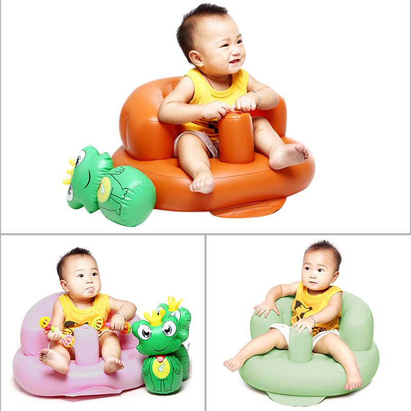 Baby Support Seat Plush Soft Baby Sofa Infant Learning To Sit Chair Keep Sitting Posture Comfortable For 0-3 Months Baby Learner
