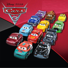 Cars 3 Mini Size Metal Black Storm Jackson Car Toy Lightning McQueen Speed Sports Boy Birthday Gift FKL39