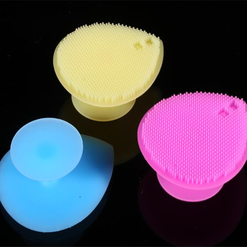 Face Clean Silicone Brush Massage Skin Deep Pore Cleaning Exfoliator Remover Soft Brush Skin Care Beauty Tools