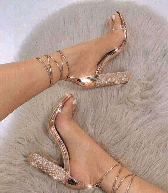 Women Sandals Shoes High Heels Sandals
