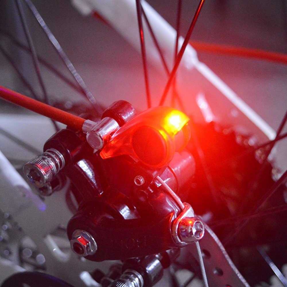 2018 hochwertigen Fahrradbremse Licht Sicherheit Rennrad Warnung Led-leuchten Klapp MTB Radfahren Geeignet Automatische Steuerung