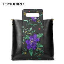TOMUBIRD 2017 New embossing luxury handbags women bags designer genuine leather bag quality women leather handbags shoulder bag