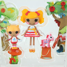 3Inch Original MGA Lalaloopsy Dolls With The Accessories Mini Dolls For Girl s Toy Playhouse Each