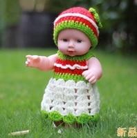 Darmowa Dostawa! 6 kolor 30 CM symulacja baby odrodzenia dolls miękkie Ruanjiao/wanienka piękne dzieci wczesna edukacja manekin B265