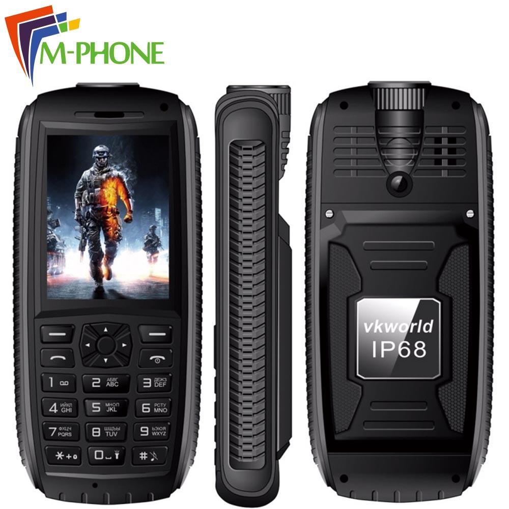 VKworld Stone V3 Max Mobile Phone 2 4 inch Dual SIM IP68 Waterproof Anti Low Temperature