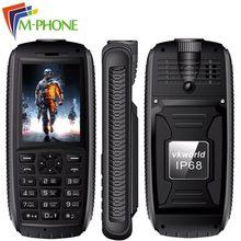 Vkworld камень V3 макс мобильного телефона 2.4 дюймов Dual SIM IP68 Водонепроницаемый анти низкая-Температура FM радио Bluetooth с 5300 мАч Батарея