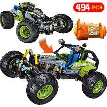 Новая техника серии LegoINGLYS технология внедорожник внедорожный автомобиль модель блоки наборы DIY Кирпичи дизайнерские игрушки для детей