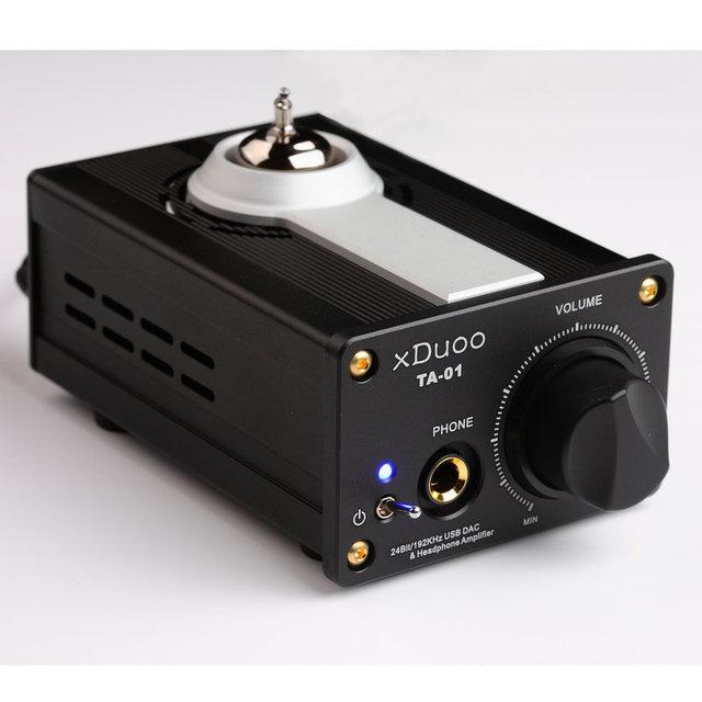 Xduoo TA-01 24Bit / 192 кГц DAC и усилитель для наушников ( высокая производительность USB цап + лампового усилителя + класс ьие )