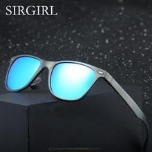 Sirgirl Fashion Aluminum Magnesium Polarized Sunglasses Men Glasses UV400 Driving Rectangle Square Frame Eyewear oculos Shades