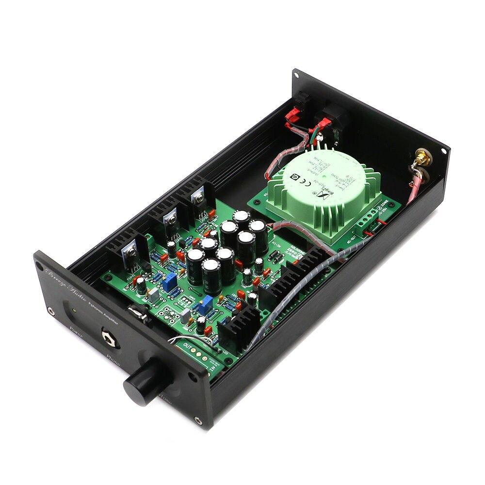 HIFI JLH HOOD1969 Class A Headphone Amplifier Amp 110V 220V Finished