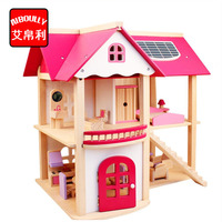 AIBOULLY Pretend Play Furniture Toys Wooden Dollhouse Furniture Miniature Toy Set Doll House Toys for Children Kids Toy 2450