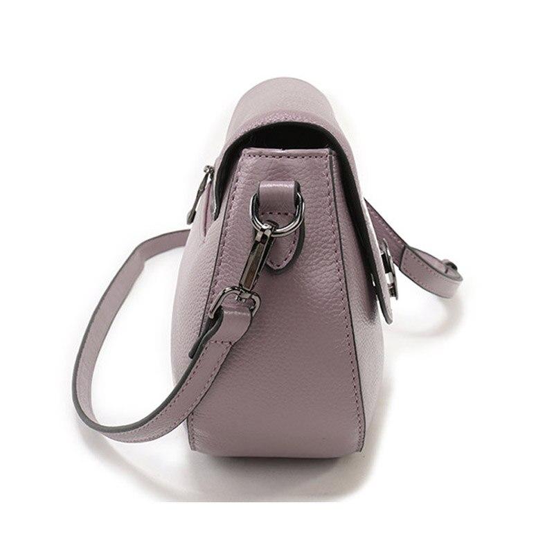ZENCY mode femmes petit véritable peau de vache de luxe marques célèbres sac à main en cuir véritable fourre-tout épaule messager sac à bandoulière sac à main - 4