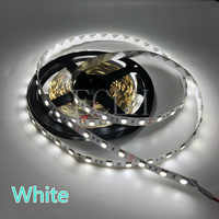Tira de luces LED DC12V 5M 300 Leds SMD3528/5050/5630 DiodeTape solo colores cinta de alta calidad luces flexibles de decoración del hogar
