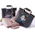 2017 Fashion Brand Design printing Women's Handbags High Quality Leather Women Bag Ladies Casual Totes Shoulder Messenger Bags