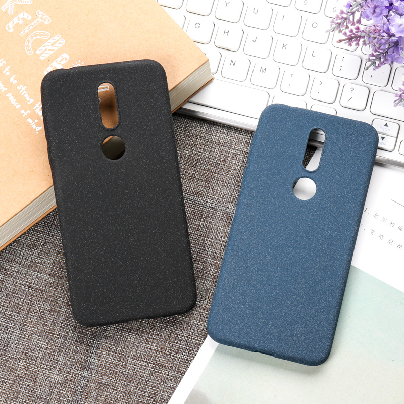 Ojeleye Silicon Case For <font><b>Nokia</b></font> <font><b>7.1</b></font> Case Scrub Anti-knock Phone <font><b>Cover</b></font> For <font><b>Nokia</b></font> X6 2018 <font><b>Covers</b></font> <font><b>Back</b></font> Coque image